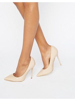 MISSGUIDED Pointed Heeled Court Shoe