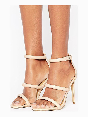 MISSGUIDED Rounded Three Strap Barely There