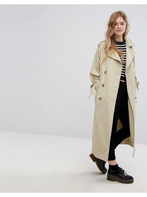 MONKI Heritage Trench Coat