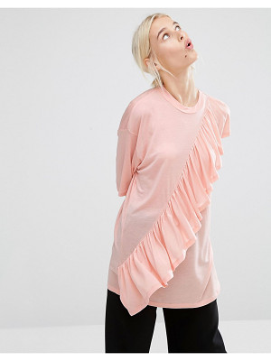 MONKI Ruffle T-Shirt
