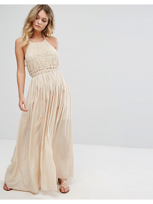 MOON RIVER Sleeveless Maxi Dress