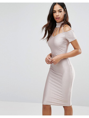 NAANAA Midi Dress With Strap Detail