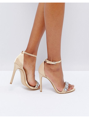 NEW LOOK Embellished Barely There Heeled Sandal