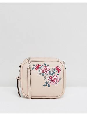NEW LOOK Embroidered Camera Bag