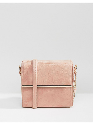 NEW LOOK Metal Box Cross Body Bag