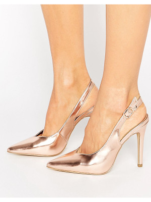 NEW LOOK Metallic Slingback Heel