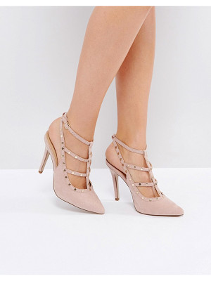 NEW LOOK Studded Strappy Heeled Shoe