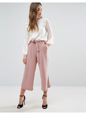 New Look Tie Waist Culottes