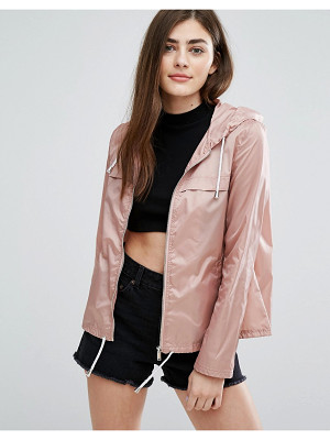 NEW LOOK Zip Front Rain Jacket