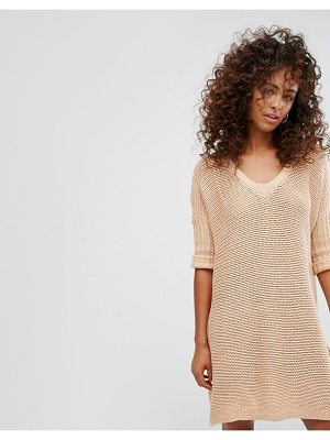 Noisy May V-Neck Knitted Dress