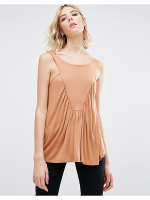 NYTT Gracious Shirring Front Tank Top
