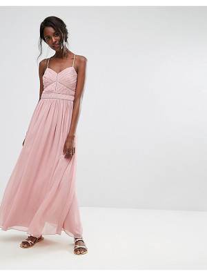 Oasis Chiffon Maxi Dress