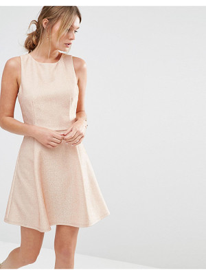 Oasis Metallic Skater Dress