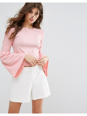 OEUVRE Flare Sleeve Blouse