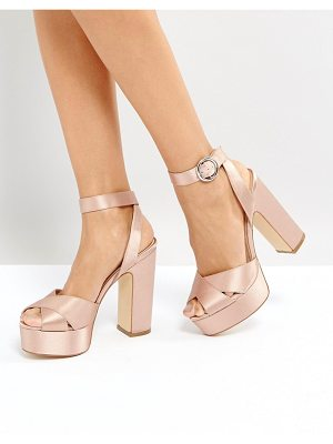 Office Harley Satin Platform Sandals