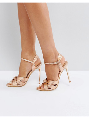 OFFICE Hollie Rose Gold Heeled Sandals