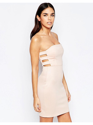 Oh My Love Bodycon Dress With Cut Out Sides