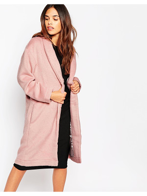 Oh My Love Brushed Duster Coat