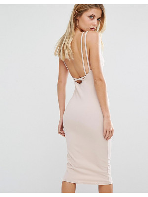 Oh My Love Cross Strap Midi Dress