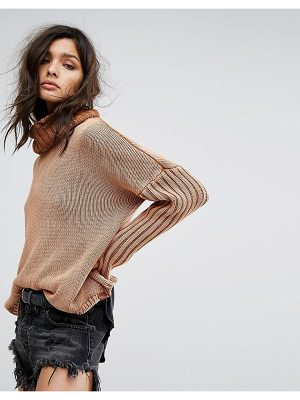 One Teaspoon Roll Neck Sweater