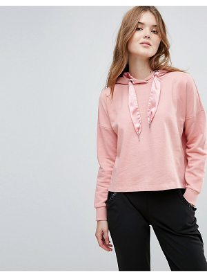 ONLY Beatrice Sateen Pullers Hoody