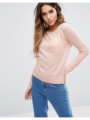 Only Ribbed Sweater
