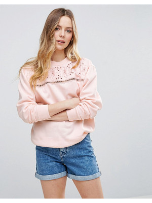 Parisian Embroidered Sweatshirt