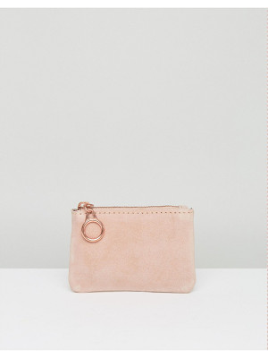 Pieces Suede Coin Purse
