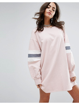PrettyLittleThing Color Block Sweater Dress