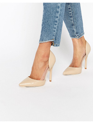 PUBLIC DESIRE Keely Clear Detail Pumps