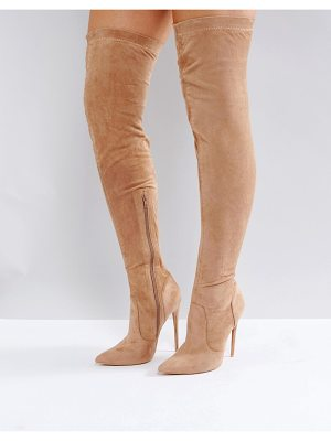 Public Desire Sonar Over The Knee Boots