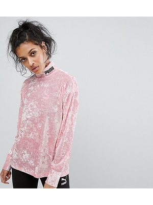 PUMA Exclusive To Asos Velvet Sweatshirt