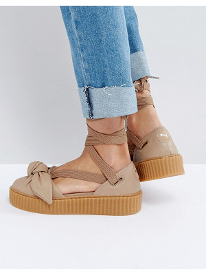 PUMA X Fenty Bow Creeper Sole Sandal
