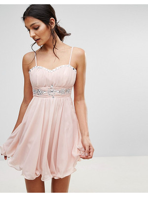 Pussycat London Embellished Prom Dress