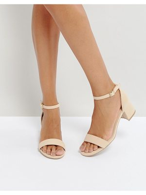 QUPID Qupid Kitten Heel Sandals