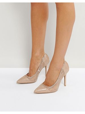 QUPID Qupid Mesh Point High Heels
