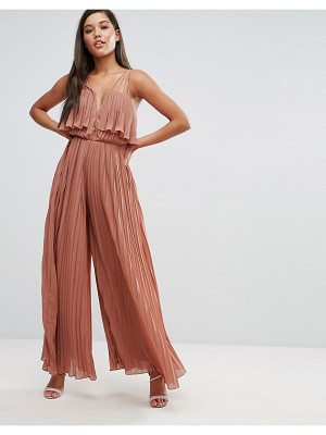 Rare London Pleated Jumpsuit