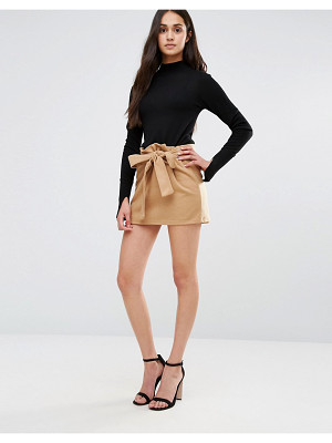Redream Re: Dream Mini Skirt With Tie Waist