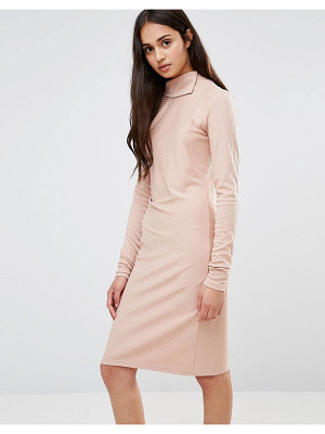 REDREAM Re: Dream Twist Knit Dress With Gathered Side