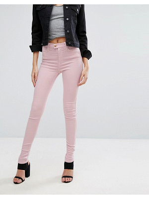 REPLAY touch super high rise skinny jeans