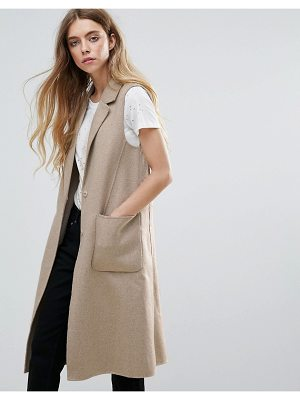 Selected Alice Wool Blend Tailored Vest