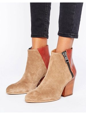 Selected Amber Mix Boot