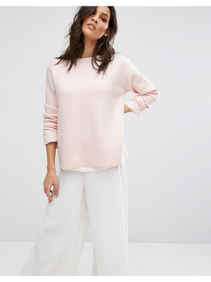 Selected O-Neck Knit Sweater