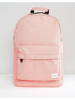 SPIRAL Backpack In Apricot Marl