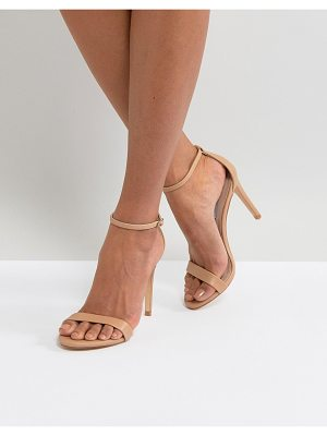Steve Madden Stecy Nude Barely There Sandals