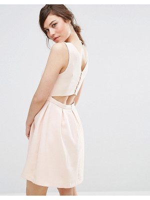 SUNCOO Back Detail Dress