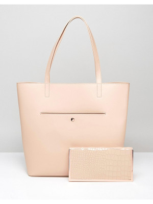 TED BAKER Ivalyn Metal Border Shopper