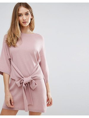 TED BAKER Oversized Cashmere Mix Sweater Dress