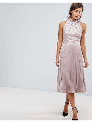 TED BAKER Pleated Midi Dress