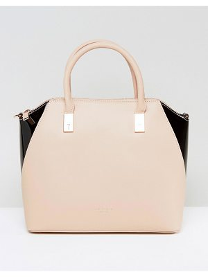 TED BAKER Small Leather Tote Bag